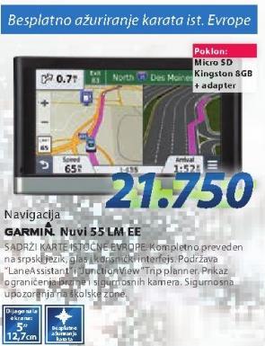 Navigacija Garmin Nuvi 55 LMEE