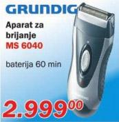 Aparat za brijanje Ms 6040