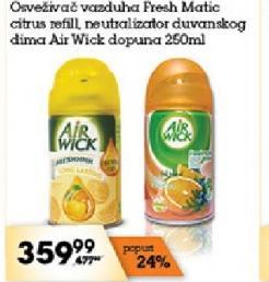 Osveživač vazduha freshmatic Citrus