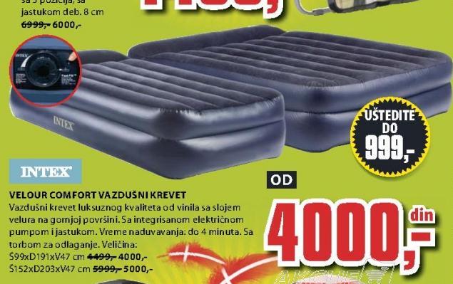 Vazdušni krevet Velour