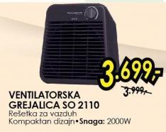 Ventilatorska Grejalica SO 2110