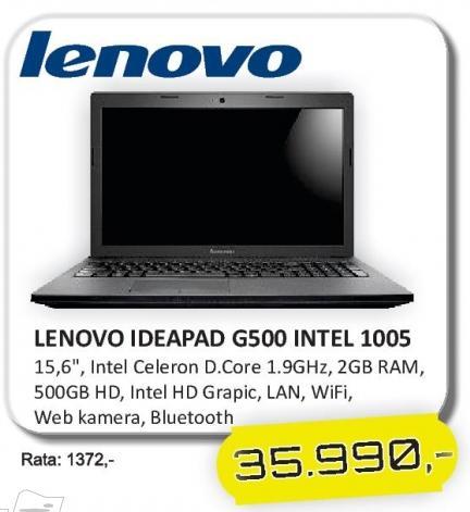 Laptop IdeaPad G500 Intel 1005