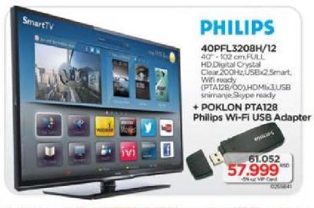 LED Tv 40PFL3208H/12
