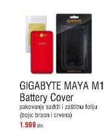 Zaštitna maska za Gigabyte MAYA M1 Baterry cover