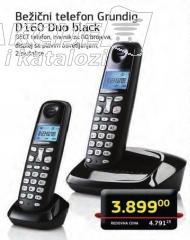Bezicni telefon D160 Duo black