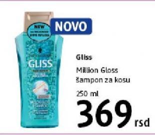 Šampon za kosu Million Gloss