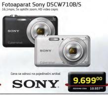 Fotoaparat DSCW710B/S