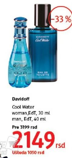 Toaletna voda Cool Water