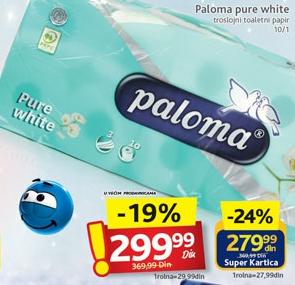 Toalet papir Pure white