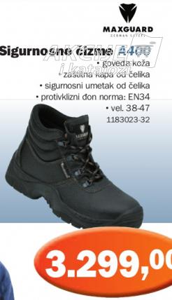Sigurnosne čizme A400