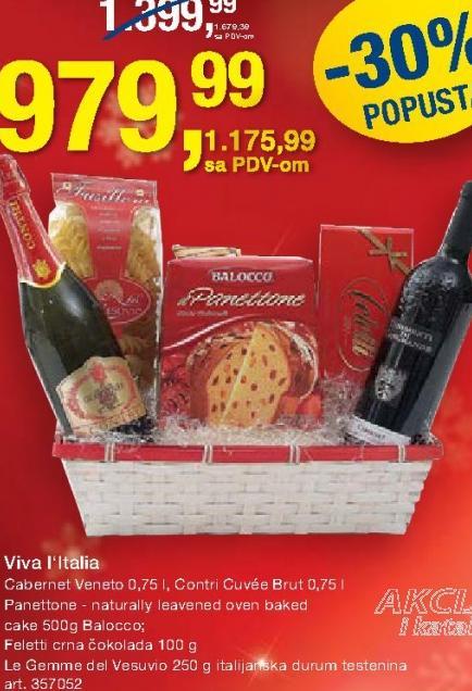 Crno vino Cabernet Veneto