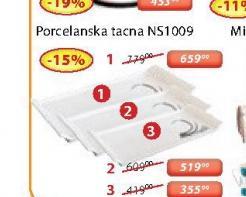 Porcelanska tacna NS1009