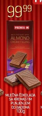 Čokolada badem