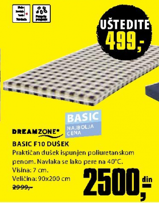 Dušek, Basic F10