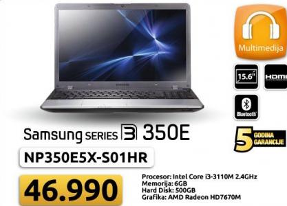 "Laptop NP350E5X-S01HR 15.6"""