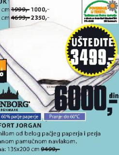 Jorgan Comfort
