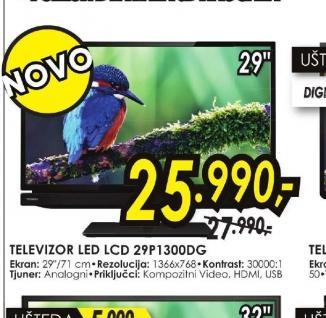 Televizor LED 29P1300DG