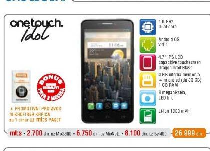 Mobilni telefon OT-6030X Idol