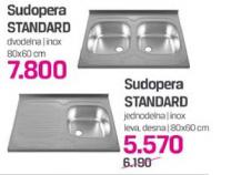 Sudopera Standard jednodelna