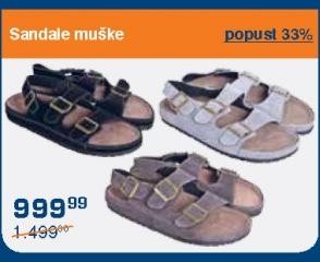 Sandale muške
