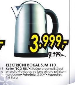 Električni bokal SJM 110