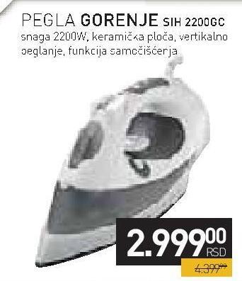 Pegla SIH 2200 GC