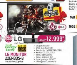 Monitor 22EN33S B