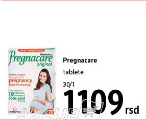 Pregnacare tablete za trudnice