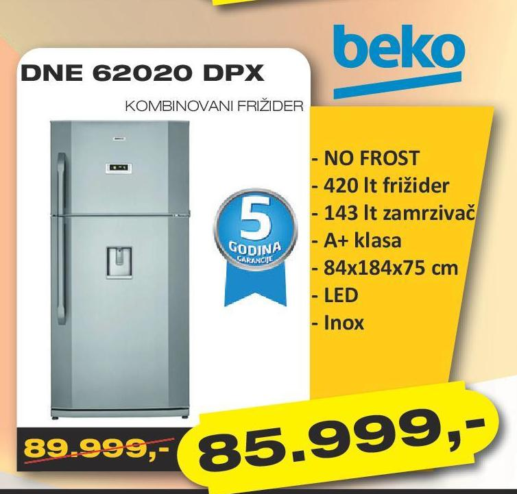 Frižider DNE 62020 DPX