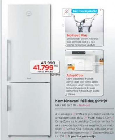 Kombinovani frižider NRK 61J SY2