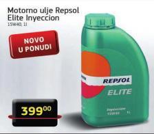 Motorno ulje Repsol Elite Inyeccion