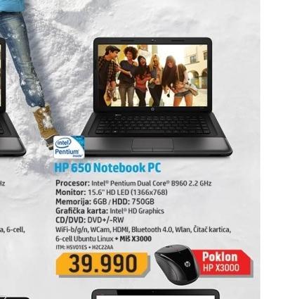 Laptop H5V01ES