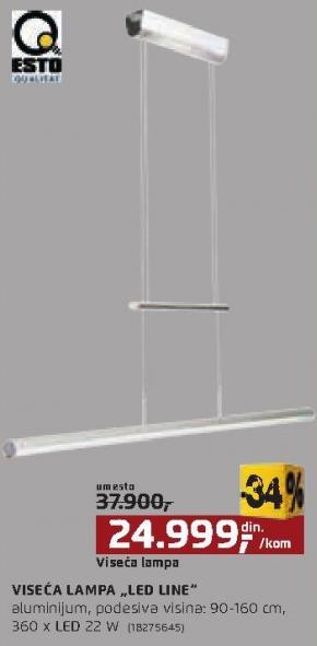 Viseća lampa Led Line