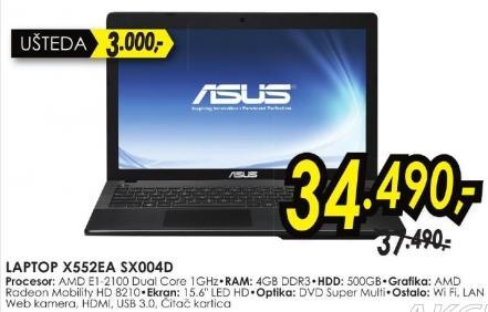 Laptop X552ea Sx004d