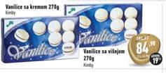 Biskvit vanilice krem