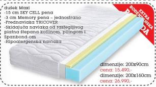 Dušek Maxi 200x90 cm