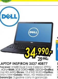 Laptop Inspiron 15 3537 40877