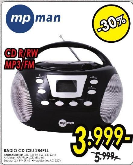 Radio CD Csu 284Pll