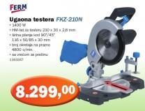 Ugaona testera FKZ 210n, Ferm