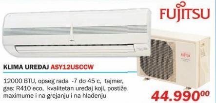 Klima uređaj Asy12usccw