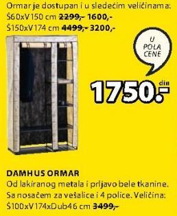 Ormar Damhus 150x174
