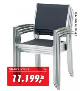 Baštenska stolica Trient
