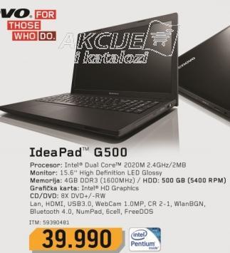 Laptop IdeaPad G500 59390481