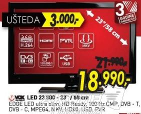 Televizor LED 23 900