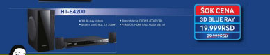 3D Bly-ray sistem HT-F4200