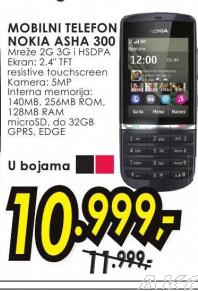 mobilni telefon Asha N 300