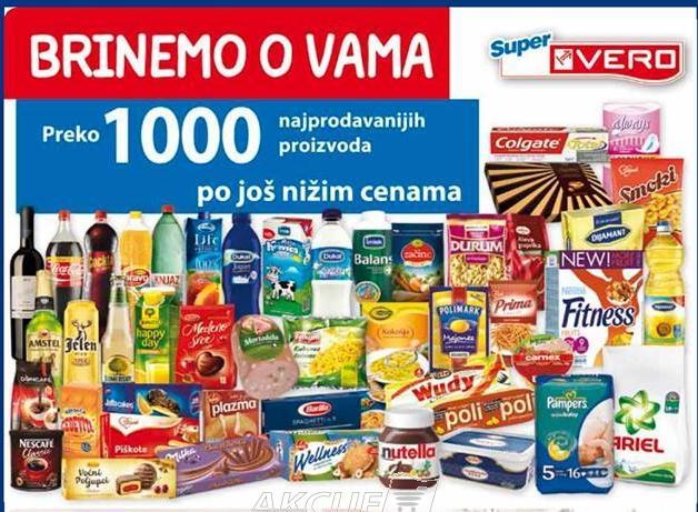 Preko 1000 najprodavanijih proizvoda po još nižim cenama