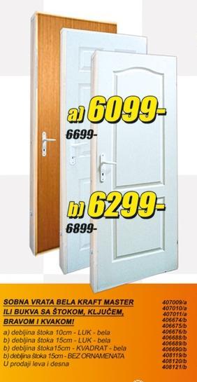 Sobna vrata Master