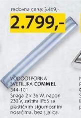 Vodootporna svetiljka Commel 344 101