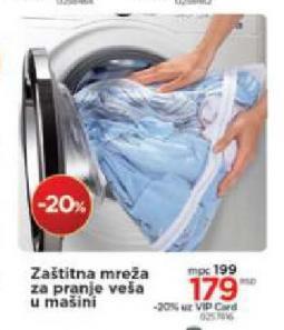 Zaštitna mreža za pranje veša u mašini